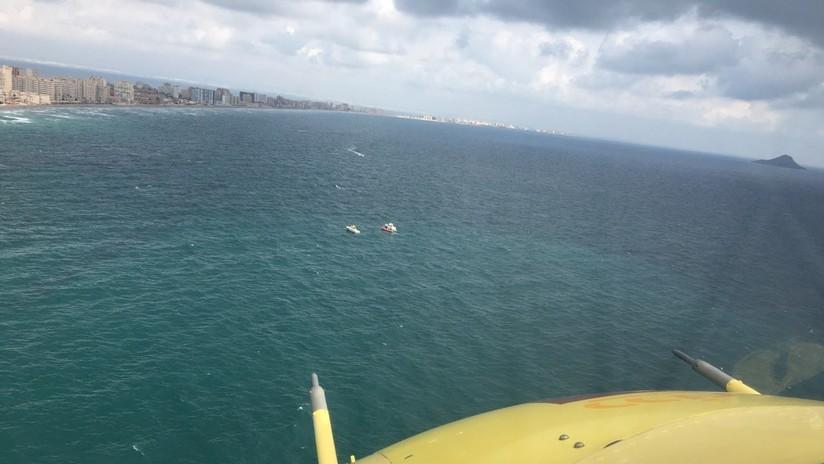 Muere el piloto del avión del Ejército del Aire de España que cayó frente a las costas de Murcia