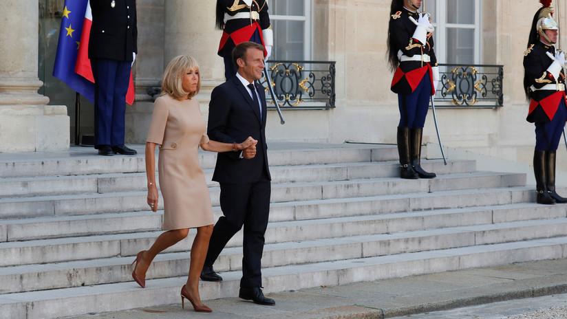 """Macron califica los comentarios de Bolsonaro sobre su esposa de """"extremadamente irrespetuosos"""""""