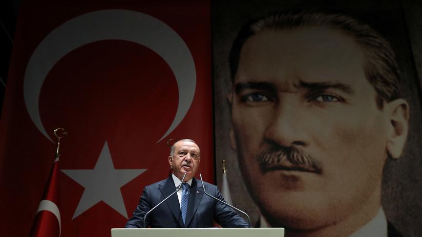 """Erdogan: """"Las tropas turcas ingresarán en el territorio sirio muy pronto"""""""