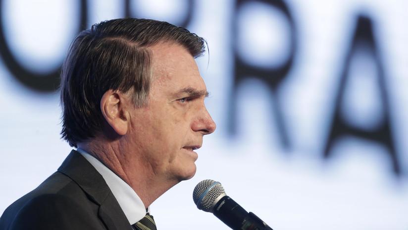 """Bolsonaro, sobre Macron: """"No podemos aceptar que lance ataques inoportunos y gratuitos a la Amazonia"""""""