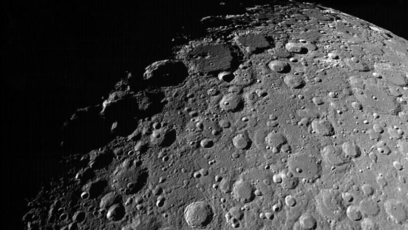 Una misión india capta nuevas imágenes de la cara oculta de la Luna