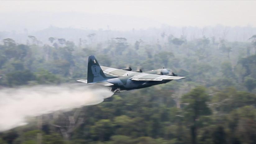 """El ministro de Medio Ambiente de Brasil da la """"bienvenida"""" a la ayuda del G7 para combatir los incendios en la Amazonia"""
