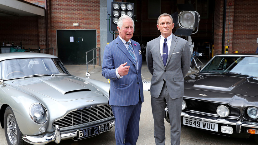 VIDEO: Graban espectaculares persecuciones de coches durante el rodaje de 'Bond 25'