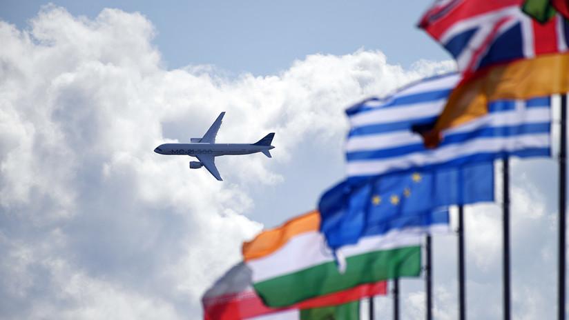 Rusia presenta lo último en tecnologías aeroespaciales en el salón MAKS 2019