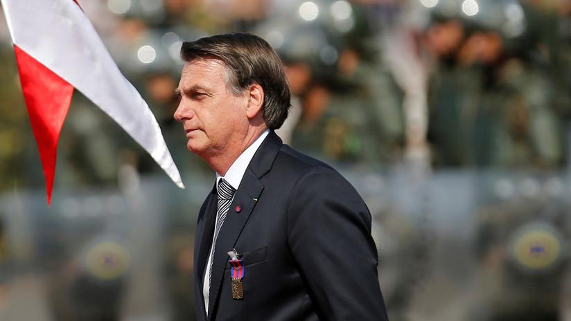 """Bolsonaro está dispuesto a discutir la ayuda del G7 para la Amazonia si Macron """"retira sus insultos"""""""