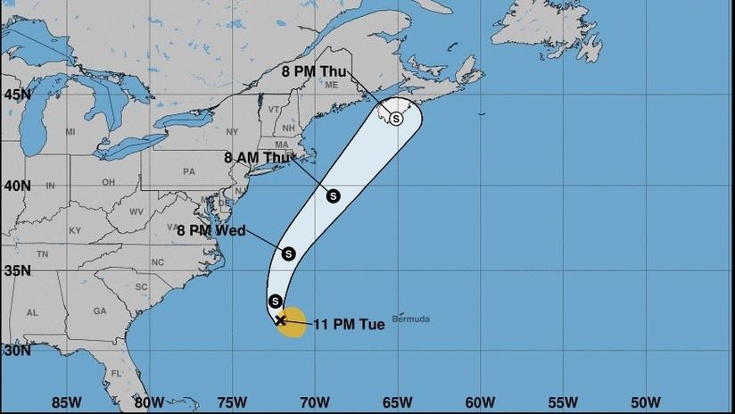 La tormenta tropical Erin se forma al oeste de las costas de EE.UU.