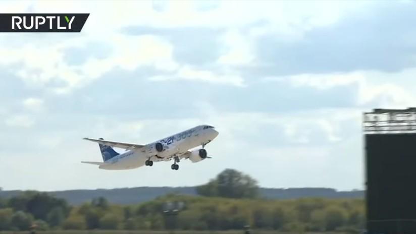 MAKS 2019: Magistral exhibición de la aviación militar y civil rusa (VIDEOS)