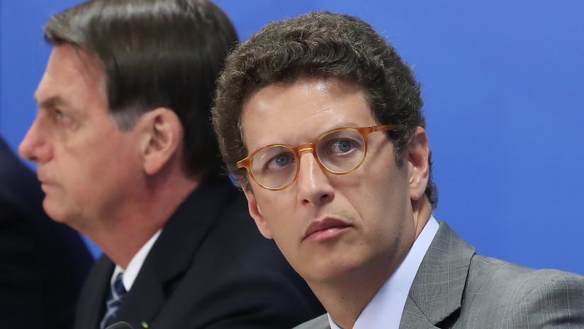 Hospitalizan al Ministro de Ambiente de Brasil en medio de crisis amazónica