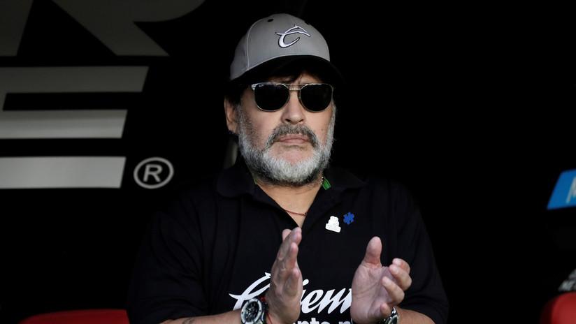 """Maradona dice que la Justicia lo trata distinto 'por kirchnerista' y vaticina: """"Falta poco para que volvamos"""""""