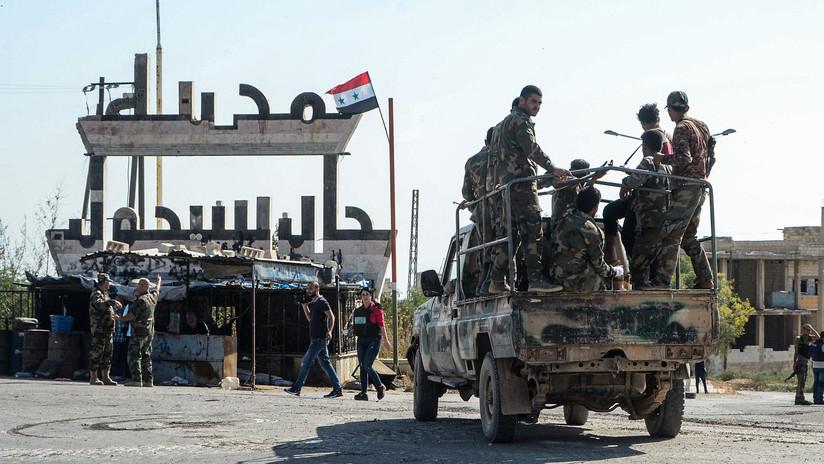 La ciudad siria de Jan Sheijún retoma la normalidad tras la expulsión de los yihadistas