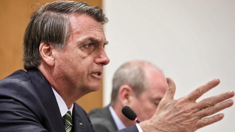 """Bolsonaro vuelve a exigir las disculpas de Macron por llamarle """"mentiroso"""""""