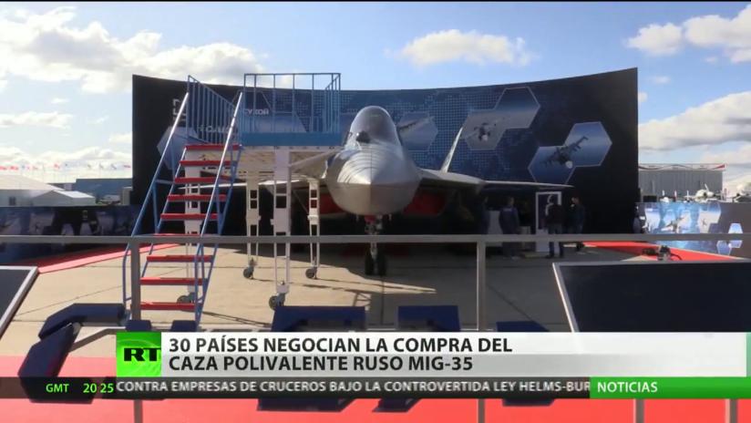 30 países negocian la compra del caza polivalente ruso MiG-35