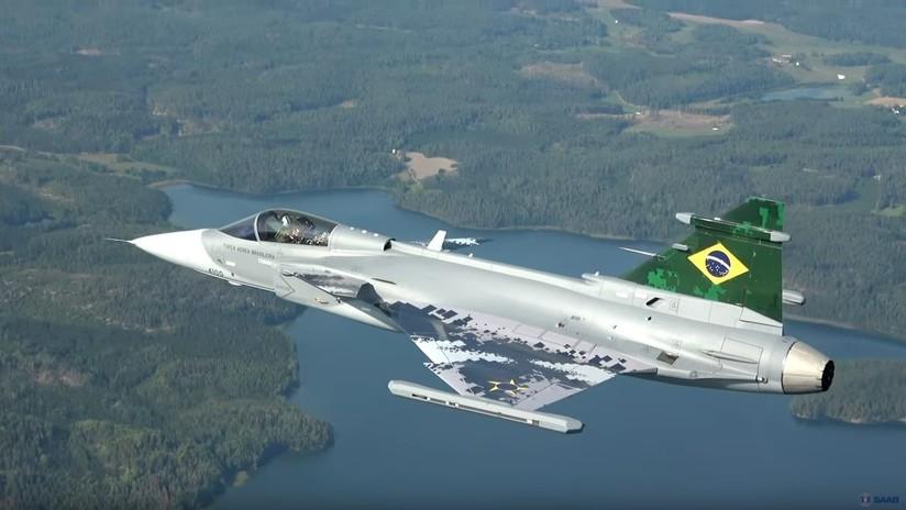 VIDEO: El caza brasileño Gripen E realiza su primer vuelo de prueba