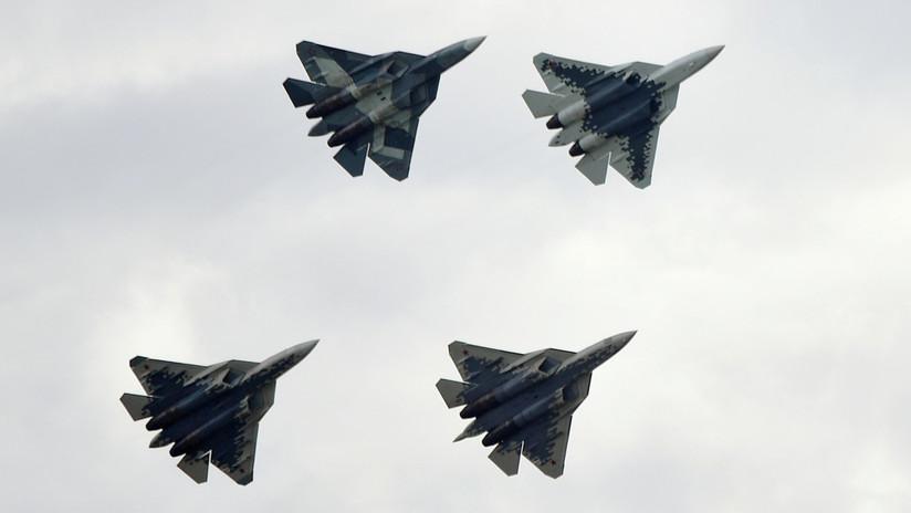 """""""¿Por qué no?"""": Erdogan no descarta la compra de los cazas rusos Su-35 y Su-57 en lugar los F-35 estadounidenses"""