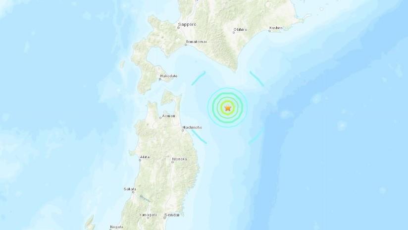 Un terremoto de 6,1 se registra en el norte de Japón