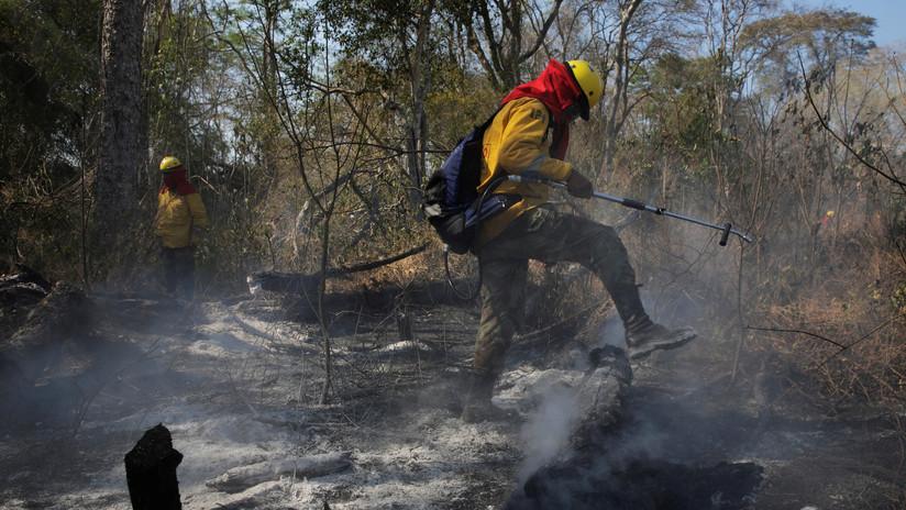 Bolivia informa ante la OEA la extinción de más de 8.000 focos de incendio en la Chiquitanía