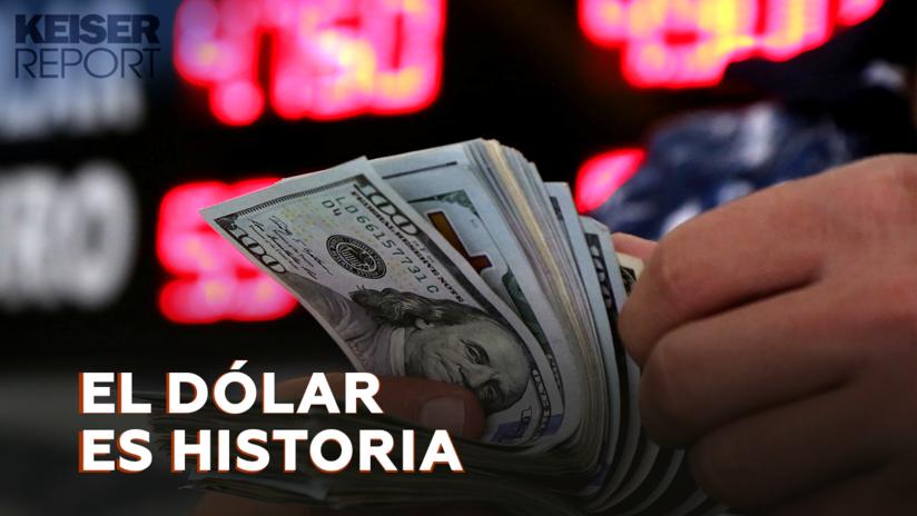 """""""El mundo tiene que poner fin a su peligrosa dependencia del dólar"""""""