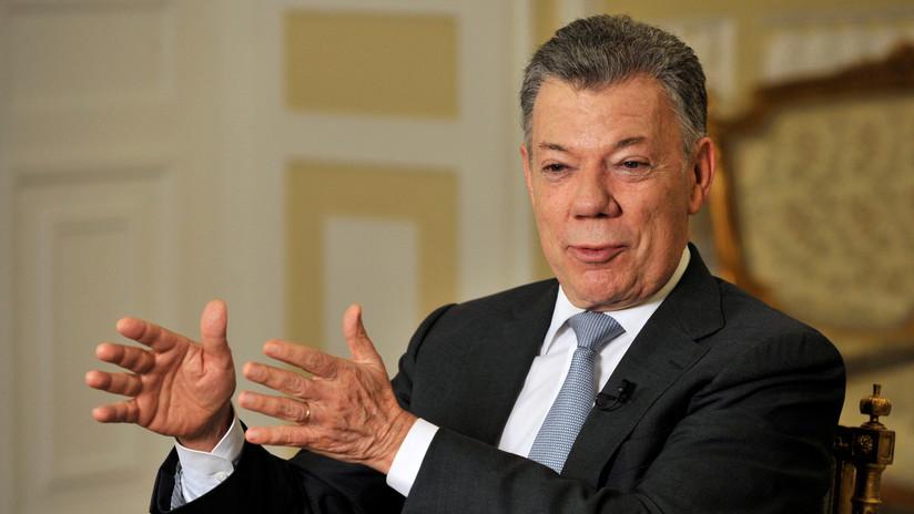 """Juan Manuel Santos: """"El 90 % de las FARC sigue en el proceso de paz, a los desertores hay que reprimirlos"""""""