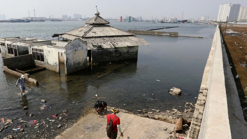 La capital de Indonesia se hundirá en pocas décadas dejando a millones de personas sin hogar