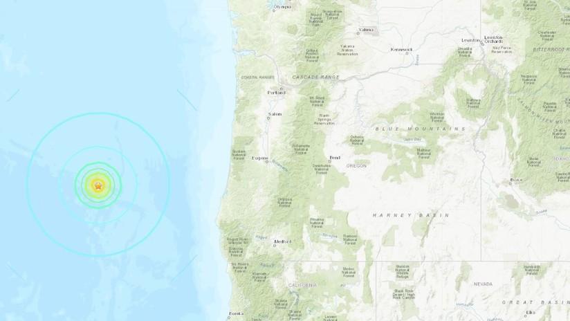 Un sismo de magnitud 6,3 sacude la costa noroeste de EE.UU.