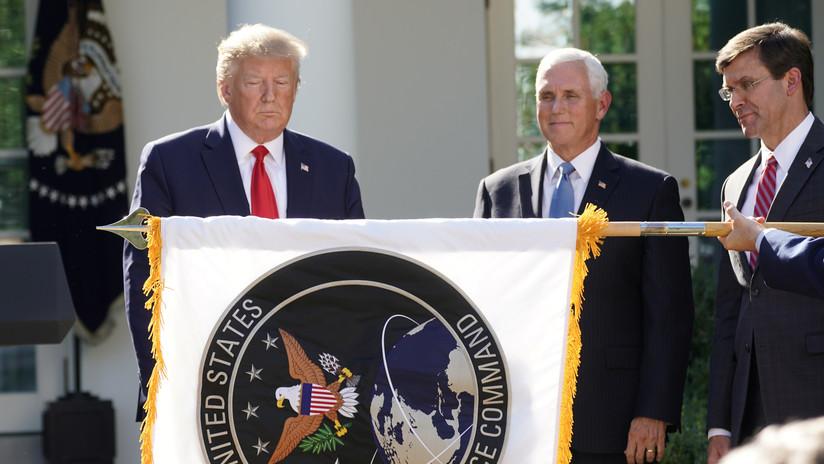 Trump inaugura el Comando Espacial de EE.UU., la nueva parte del Pentágono