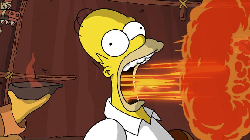 VIDEO: Dos seguidoras de 'Los Simpson' recrean a la perfección una 'apetitosa' escena de la serie