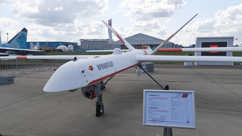 Rusia comienza la producción en serie del dron militar Orion