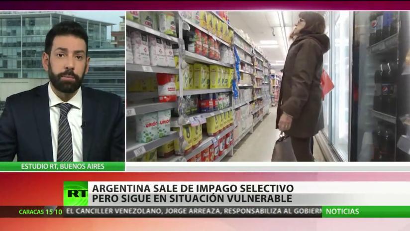 Argentina sale del impago selectivo, pero sigue en situación vulnerable