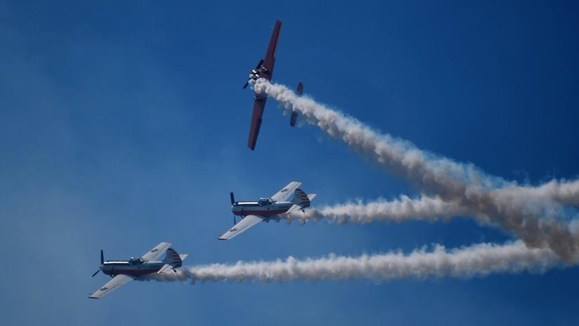 Quinto día del salón aéreo MAKS: pilotos muestran sus habilidades ante un número récord de visitantes