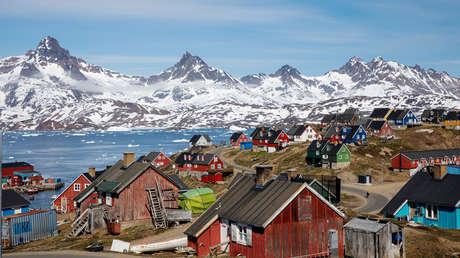 Ciudad de Tasiilaq, Groenlandia.