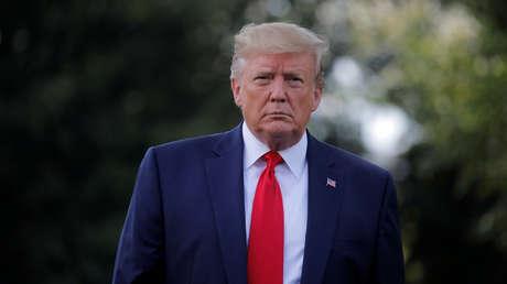 El presidente de EE.UU., Donald Trump, en Washington, el 1 de agosto de 2019