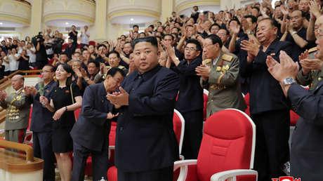 El líder norcoreano, Kim Jong-un, en Pionyang