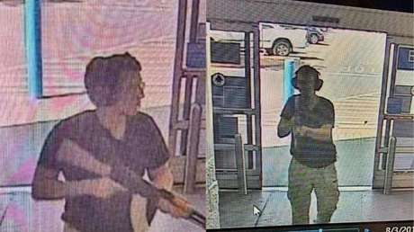 Presunta fotografía de la entrada de Patrick Crusius al Walmart en las cercanías del centro comercial Cielo Vista, de El Paso (Texas, EE.UU.), el 3 de agosto del 2019.