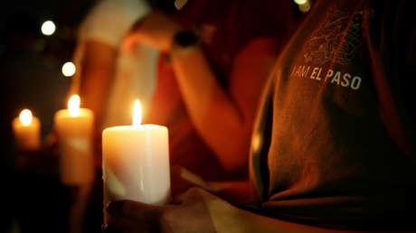 Vigilia el 3 de agosto en El Paso (Texas, EE.UU.) tras un mortal tiroteo en la ciudad.
