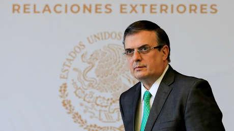 El canciller mexicano, Marcelo Ebrard