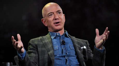 Jeff Bezos durante una conferencia en un hotel de Las Vegas (Nevada, EE.UU.), el 6 de junio de 2019.
