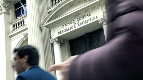 El Banco Central de la República Argentina, en la Ciudad de Buenos Aires.