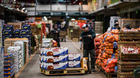 Central Market in Tapiales, greater Buenos Aires, Argentina, on August 8, 2019.