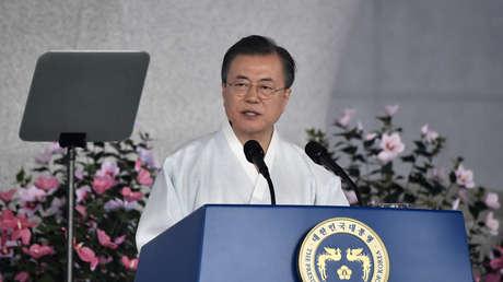 El presidente de Corea del Sur, Moon Jae-in.