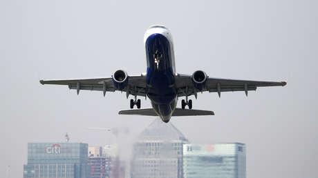 Imagen ilustrativa. Un avión de British Airways en Londres (Reino Unido).