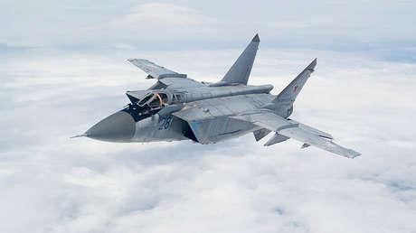 Imagen ilustrativa / Un caza MiG-31.