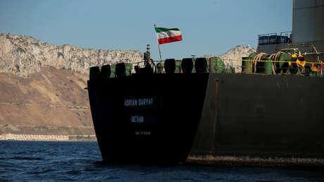 El petrolero iraní Grace 1 (ahora conocido como Adrian Darya 1).