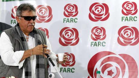El exllíder de las FARC, Jesús Santrich, en un imagen de archivo.