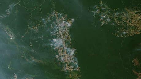 Nasa Mapa De Incendios.La Nasa Muestra En Un Mapa Todos Los Incendios Que Azotan La