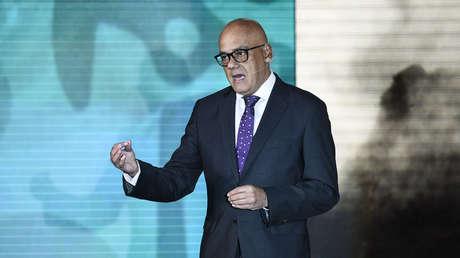 El ministro de Comunicación venezolano, Jorge Rodríguez