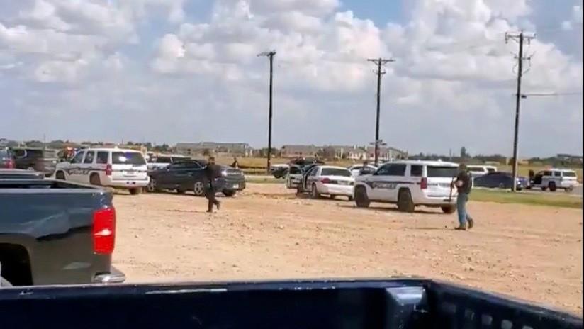 VIDEO: El momento en que la Policía abate al autor del tiroteo masivo en Texas