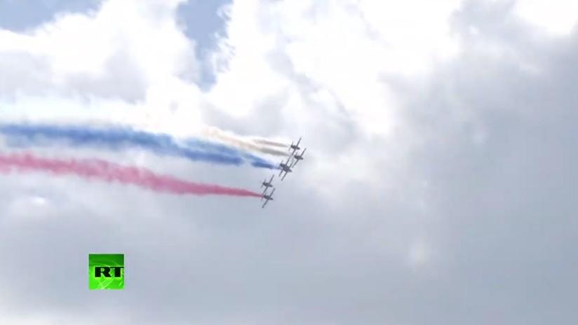 VIDEO: Último día de acrobacias aéreas del salón MAKS 2019 en la provincia de Moscú