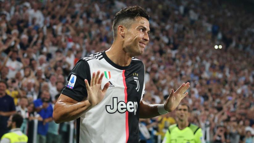 VIDEO: Ronaldo marca un gol y todos esperan su icónica celebración, pero de pronto 'trolea' al VAR