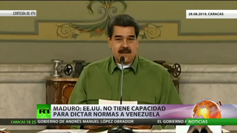 Maduro anuncia reinicio de los diálogos con la oposición de Guaidó