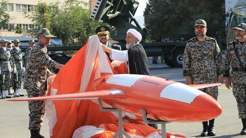 VIDEO: Irán presenta su nuevo dron de alta precisión que puede atacar blancos lejos de sus fronteras